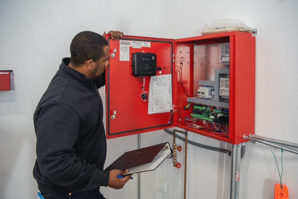 Trust a trained professional to handle your fire safety systems
