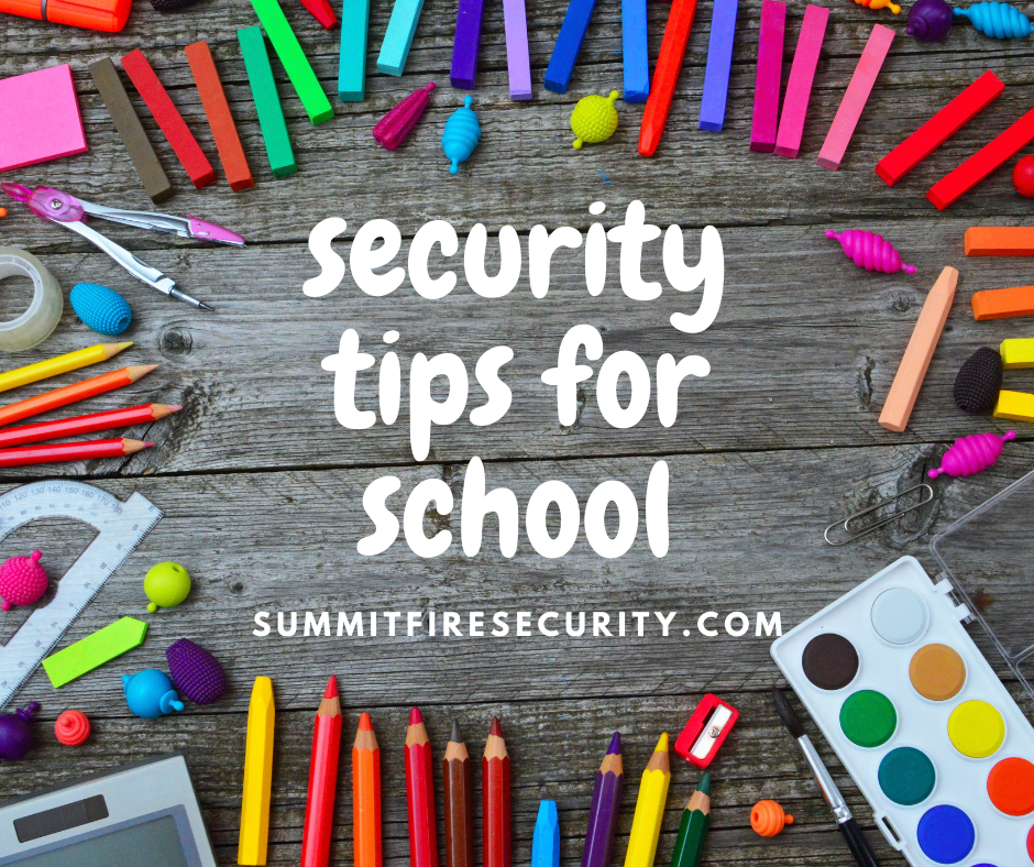 security tips for school